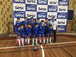 Pio XI vai à final em Copa Sesc de Futsal