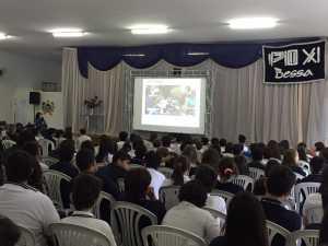 Pio XI recebe palestra sobre bom uso da internet