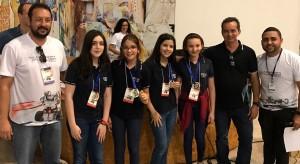 Equipe de robótica PIOXI conquista etapa regional na Olimpíada Brasileira de Robótica