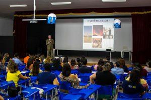 Palestra realizada pelo prof. Gonçalo Júnior marca o início do ano letivo