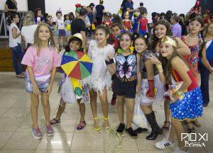Carnaval da Educação Infantil é marcado por animação e alegria