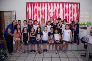 Festinha de Páscoa da Educação Infantil