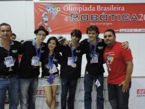 Alunos Pio XI participam da Olimpíada Brasileira de Robótica