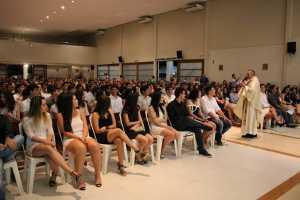 Celebração marca concluintes e formandos do Pio XI