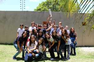 Alunos do 6º ano participam do projeto Cápsula do Tempo
